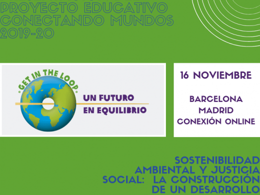 Flyer presentación Conectando Mundos