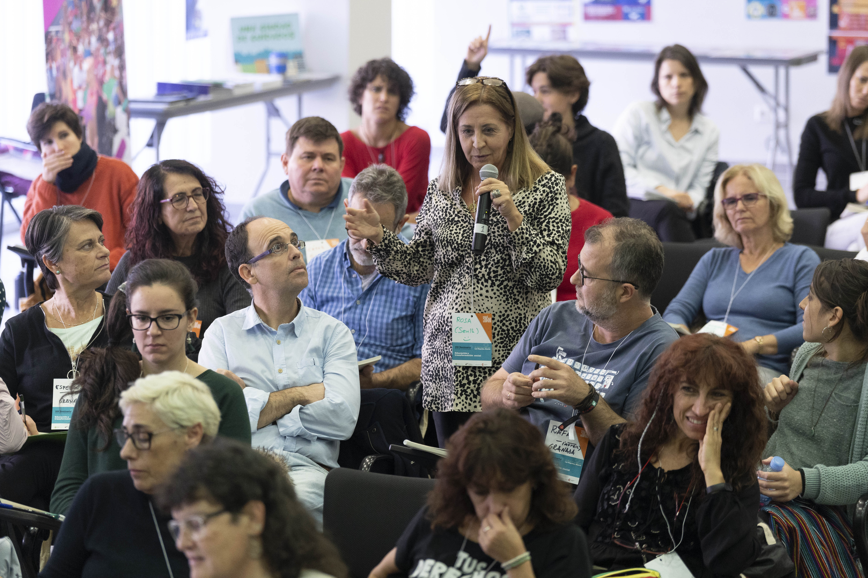 Intervencipones y debates en el VIII Seminario 'Educación y Transformación Social'