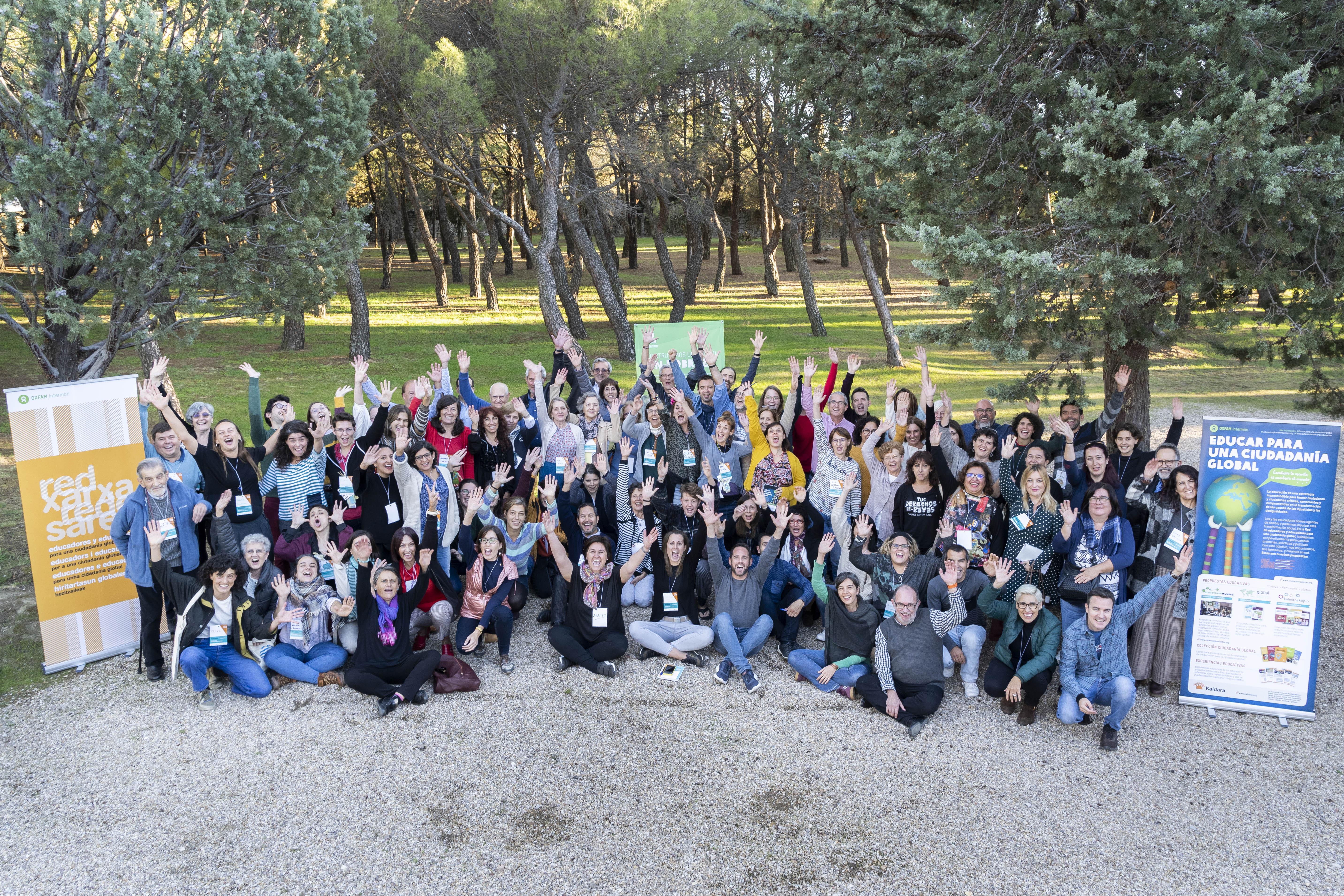 La Foto de familia VIII Seminario De La Red ECG ©Guillermo Sanz para OXFAM Intermon