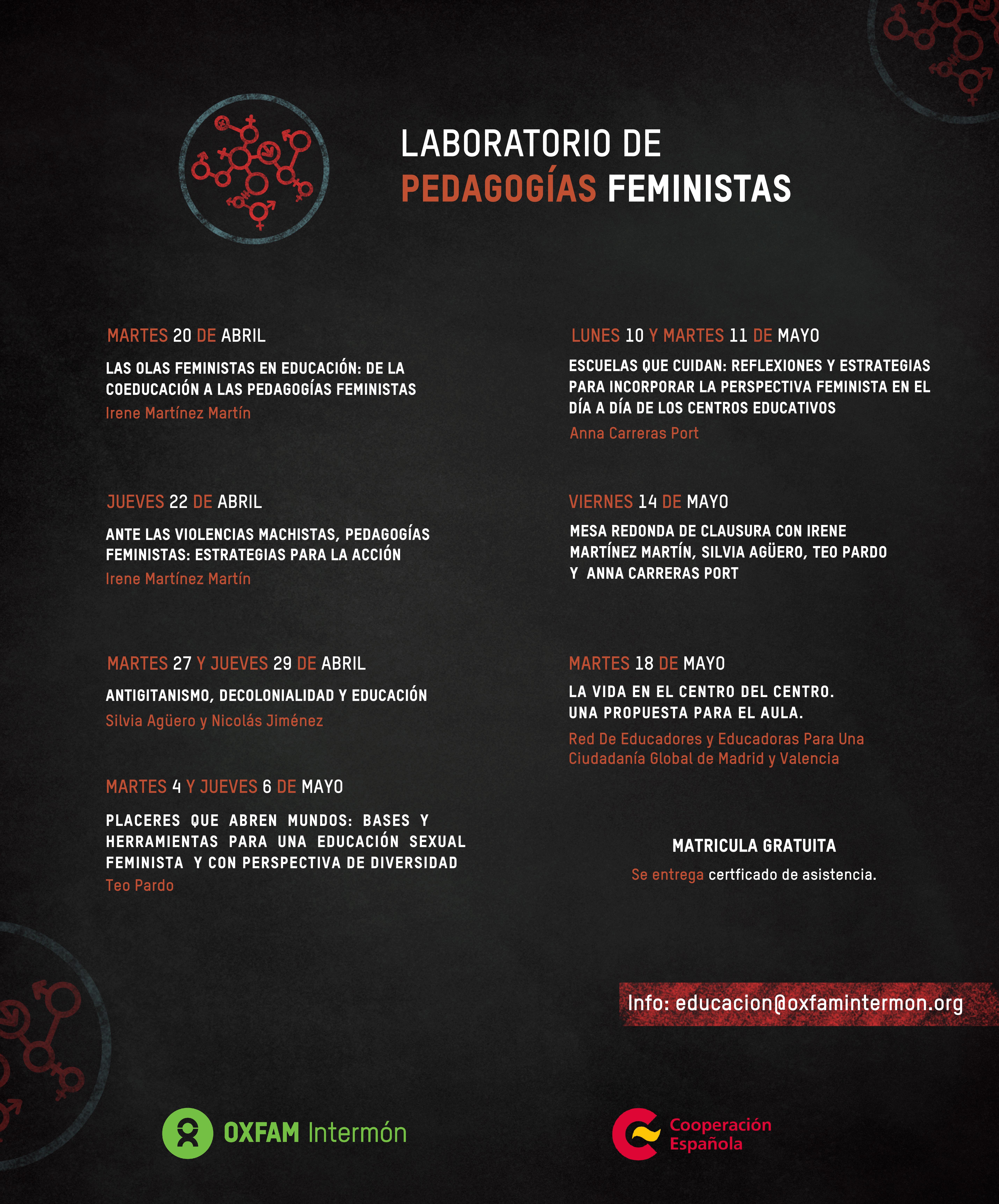 laboratorio de pedagogías feministas programa